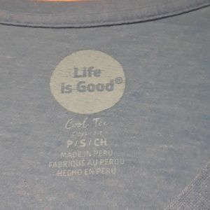 Life Is Good Tops - Life Is Good Multicolor V-Neck T-Shirt